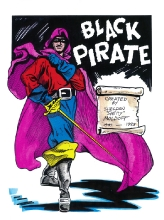 11.  black-pirate- by shelly  $80.00