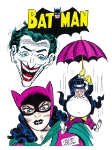 7. batman villians $35.00